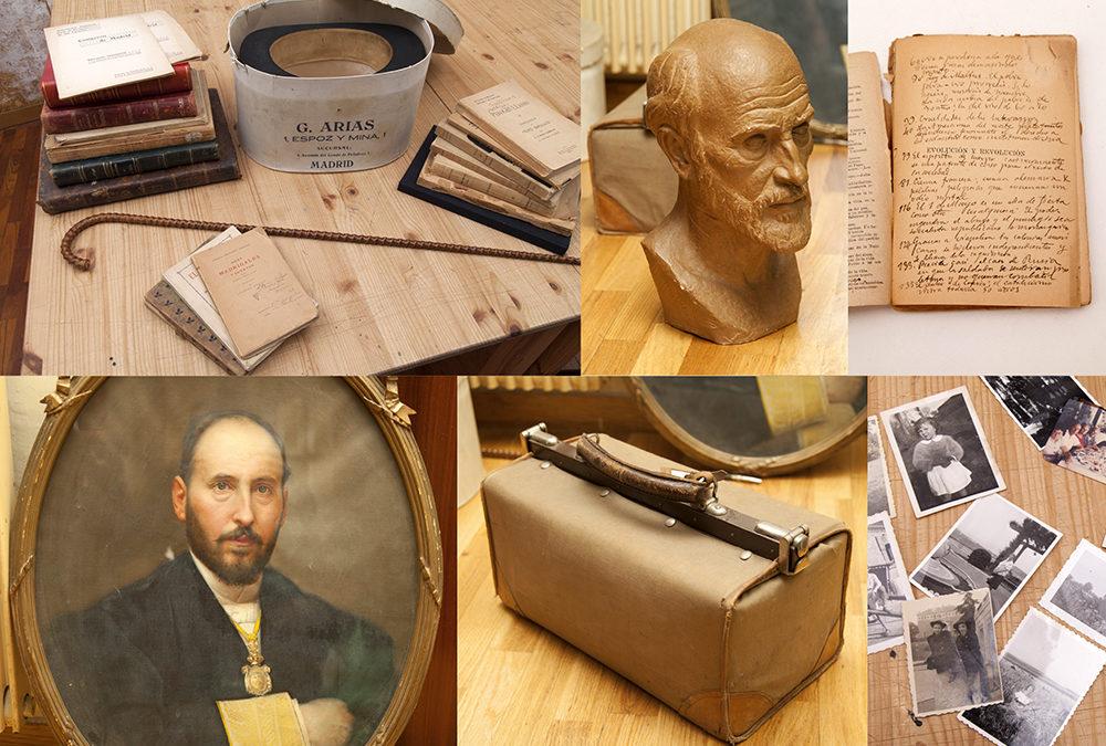 Santiago Ramón y Cajal en el rastro de Madrid